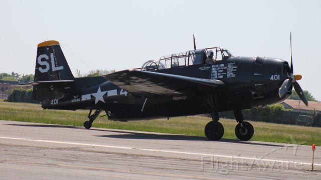 Grumman G-40 Avenger (N9586Z)