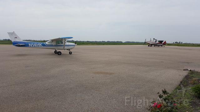 Cessna Commuter (N1234) - Fuel stop at Blytheville Municipal.