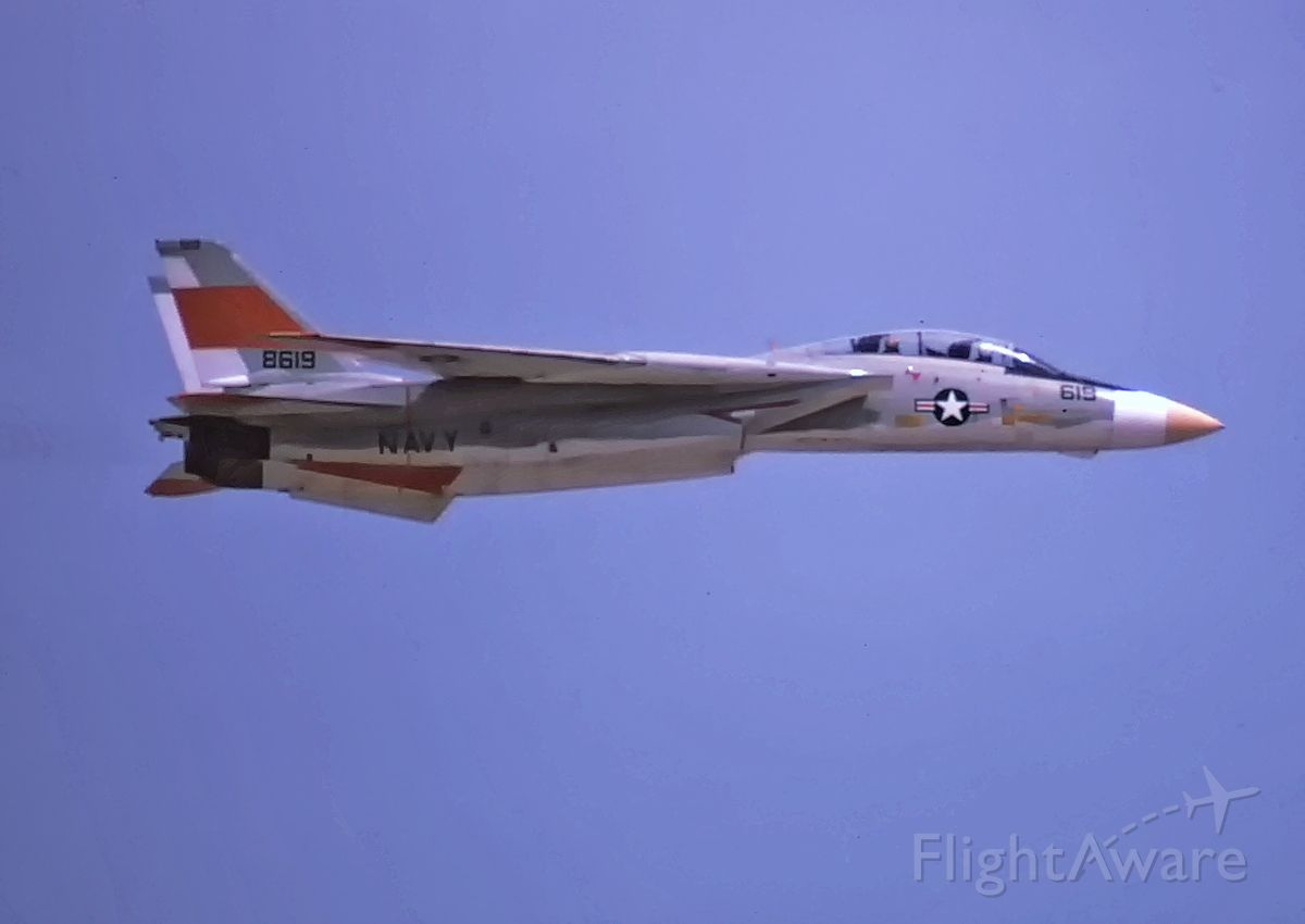 15-8619 — - High Speed past 8-3-1974 at Pax River.