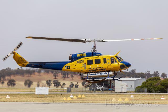 Bell BigLifter (N281JL) - McDermott Aviation / Heli-Lift Australia (N218JL) Bell 214B-1 at Wagga Wagga Airport