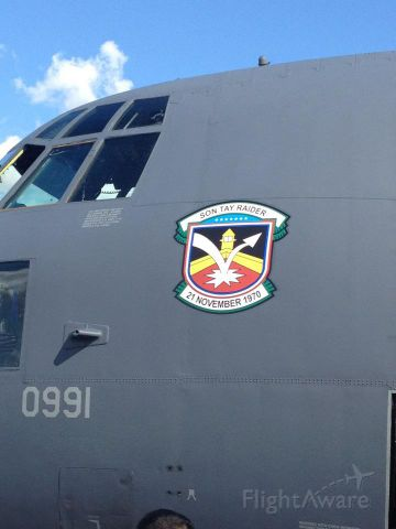 — — - Piece of history - The C-130 involved in the Son Tay raid by a U.S. Army Special Forces team.  Still flying