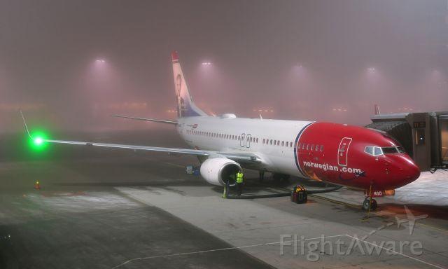 Boeing 737-800 (LN-NGO) - Norwegian Boeing 737-8JP(WL) LN-NGO in Oslo Gardermoen Airport