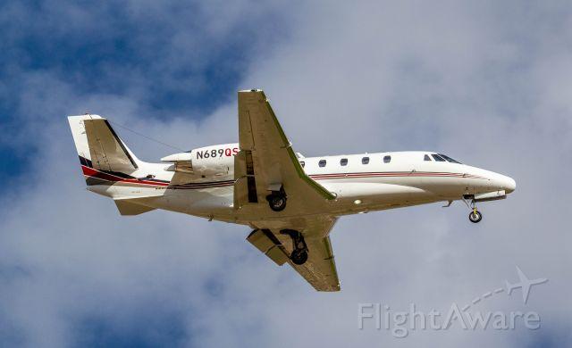 Cessna Citation Excel/XLS (N689QS) - Spotted at KSDL on 5-23-2020