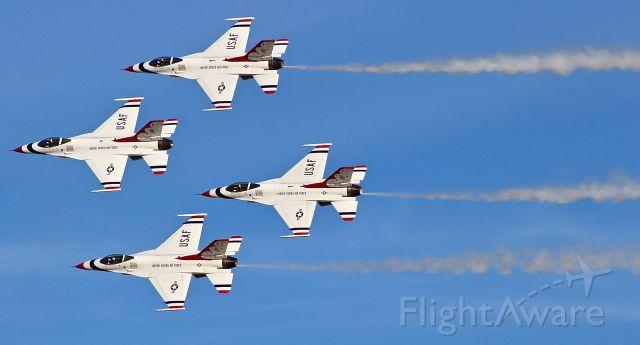 Lockheed F-16 Fighting Falcon — - The USAF