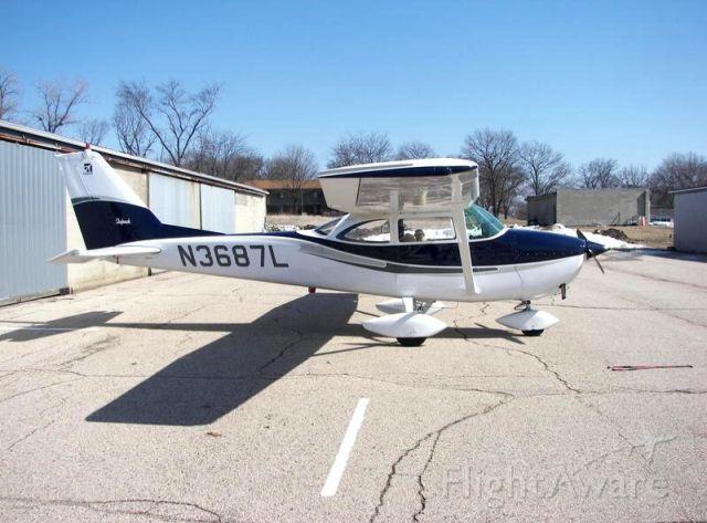 Cessna Skyhawk (N3687L)
