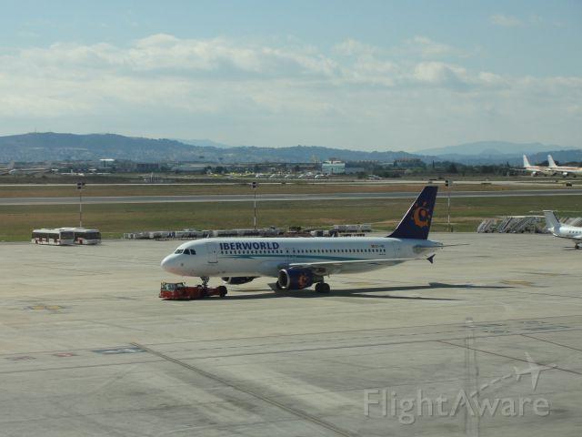 Airbus A320 (EC-INZ)