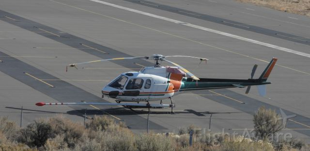 Eurocopter AS-350 AStar (C-GSVY) - Temporarily parked near Mountain West at Carson City airport, Nevada USA