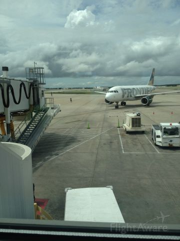 Airbus A319 — - This is a Frontier Airbus A319 at Orlando International Airport (Gate 12)br /Picture Taken: September 9th, 2017br /Hope you like it! -Please leave comments/feedback! :) Love taking these pictures!! :)