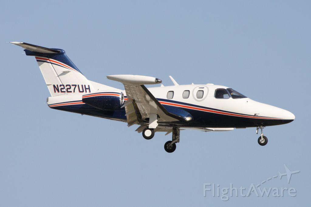 Eclipse 500 (N227UH) - Landing at John Wayne Airport 9/24/19.