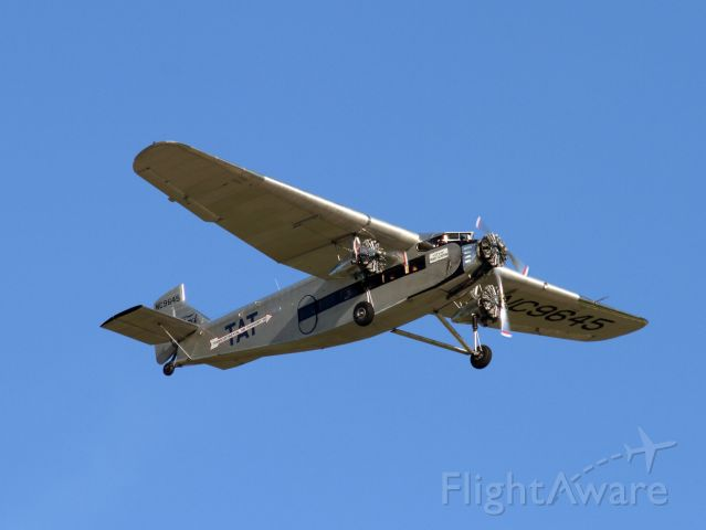 NC9645 — - Built by Ford as 5-AT-B Trimotor during 1928. First flight on December 1, 1928.<br /><br />© Pacific Wrecks - Ford 5-AT-B Trimotor Registration Number NC9645<br />Source: https://www.pacificwrecks.com/aircraft/ford/NC9645.html