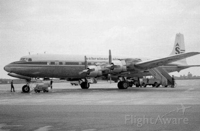 Douglas DC-7 (PH-SAO) - 1967 at Düsseldorf (EDDL)