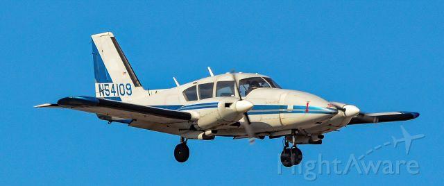 Piper Aztec (N54109) - N54109 1974 PIPER PA-23-250 Aztec s/n 27-7405421 - North Las Vegas Airport (IATA: VGT, ICAO: KVGT, FAA LID: VGT)<br />Photo: Tomás Del Coro<br />February 15, 2020