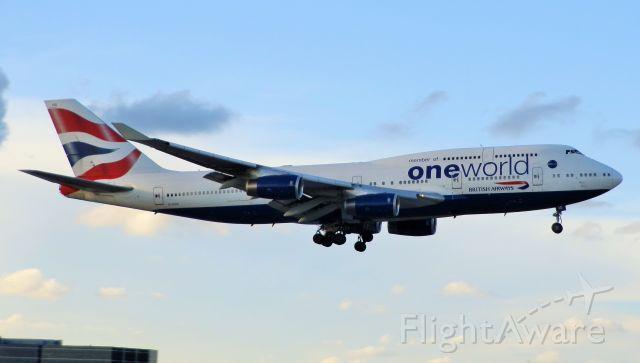 "Boeing 747-400 (G-CIVD) - ""Oneworld Livery!"""