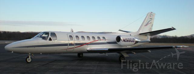 Cessna Citation V (N500UB)