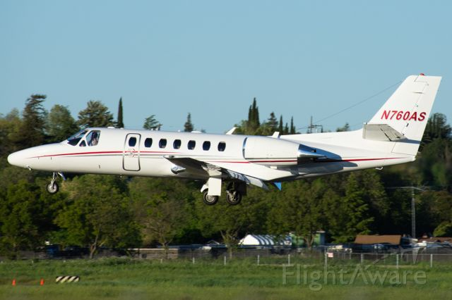 Cessna Citation V (N760AS)