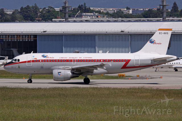 Airbus A319 (EC-KKS) - RetroJet livery