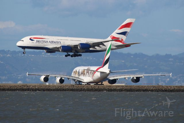 Airbus A380-800 (G-XLEH)
