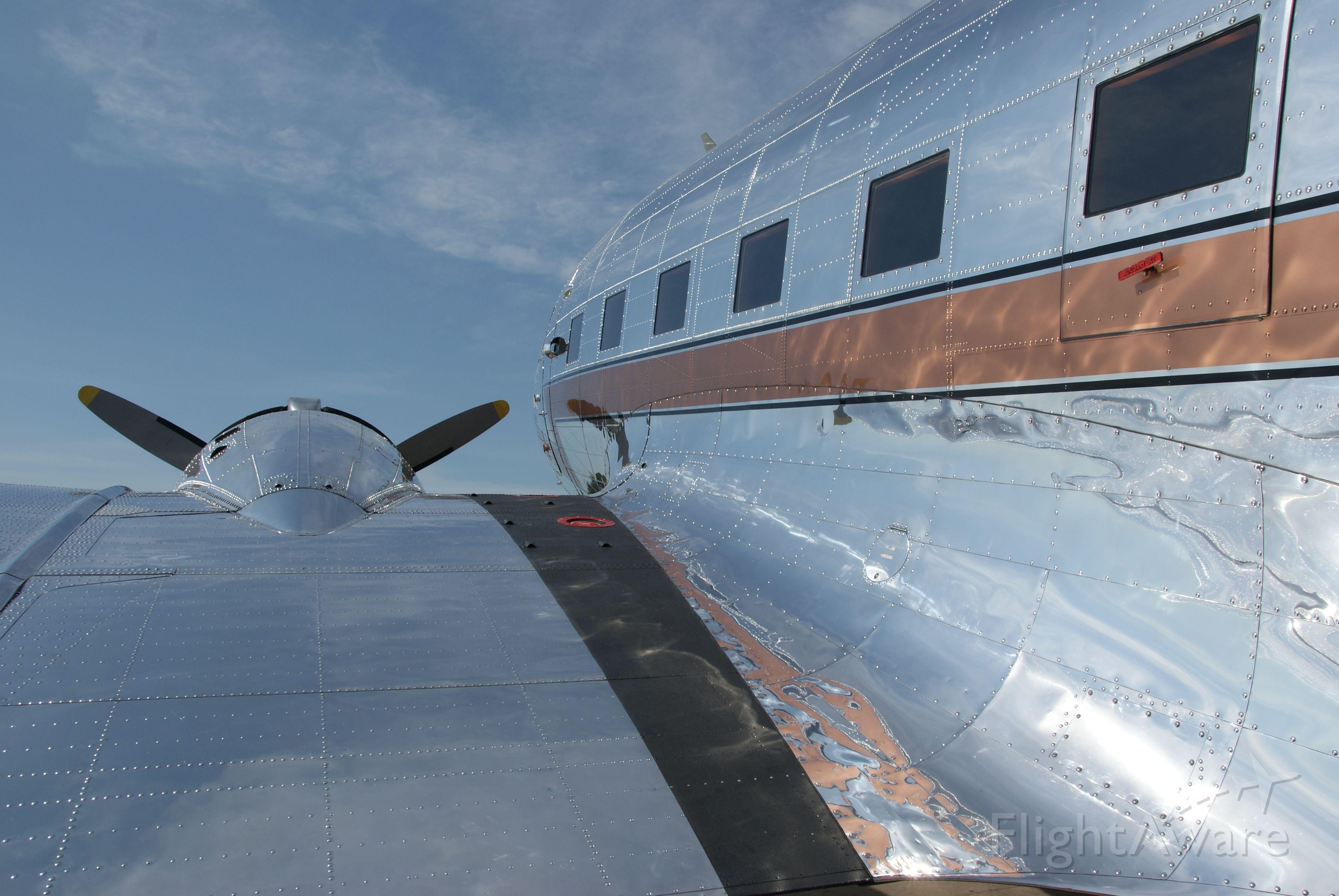 Douglas DC-3 (N3006) - Esther May in shining glory.