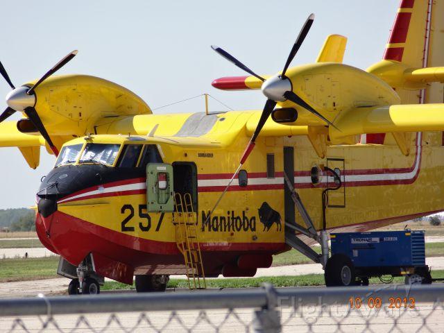 Canadair CL-41 Tutor (C-GMFY) - Airport Gimli, Manitoba, Canada