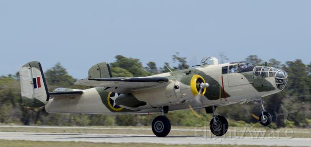 North American TB-25 Mitchell (N62163) - 2014 Tico Air Show