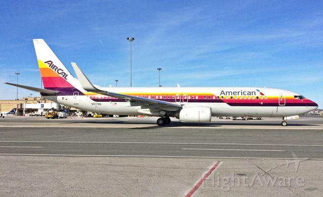 Boeing 737-800 (N917NN) - Air Cal special livery