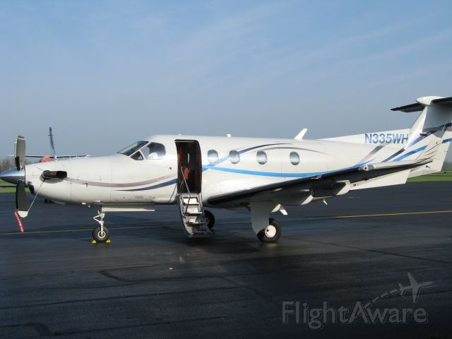 Pilatus PC-12 (N335WH) - Pilatus PC-12/45, SN 335