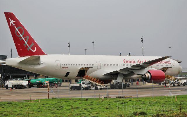 Boeing 777-200 (N819AX) - omni b777-2 n819ax at shannon 24/10/17.