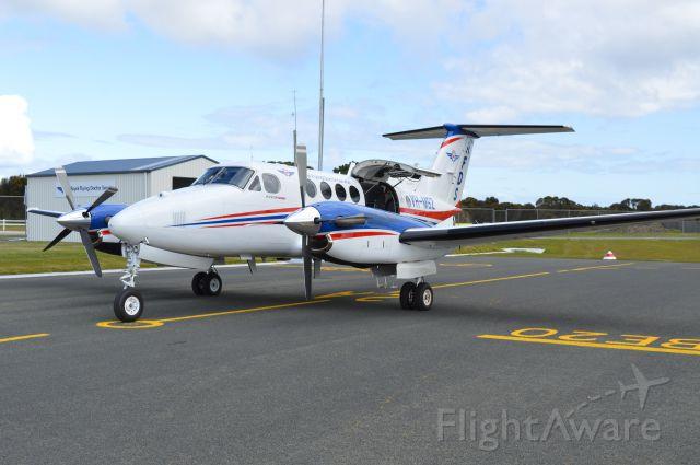 Beechcraft Super King Air 200 (VH-MSZ) - RFDS VH-MSZ on a medical retrieval at Flinders Island, Sept 2015