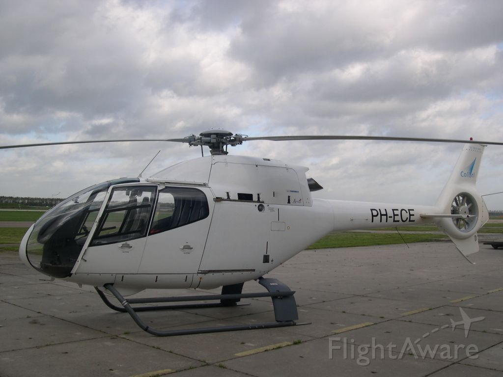 PH-ECE — - Private chopper Eurocopter EC120 Colibri parked at Lelystad Airport in the Netherlands.