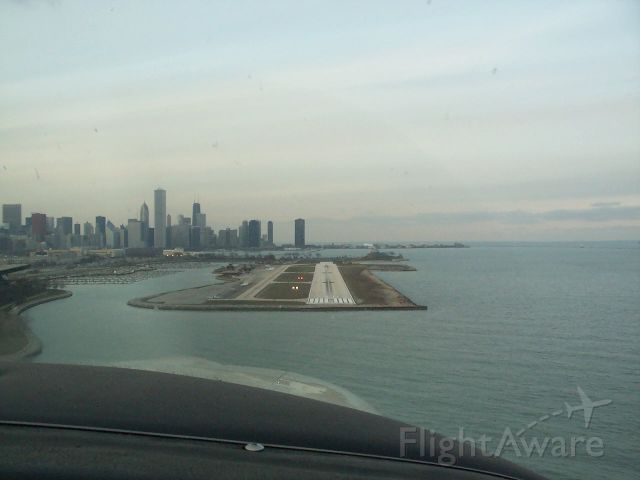 Cessna Turbo Skylane RG (N6408S) - Short final into what used to be Meigs Field.