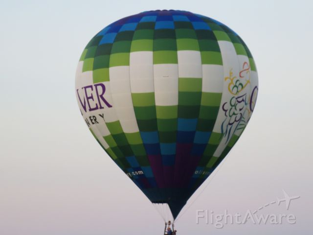 — — - Oliver Winery Hot Air Balloon @ Plymouth, IN Race 9-3-16