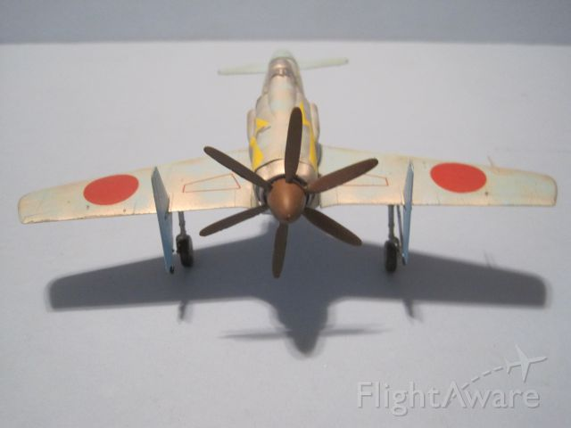 — — - 1/72 scale model of Kyushu Shinden, or Magnificent Lightning.  Flew in prototype form only for Japanese Navy.
