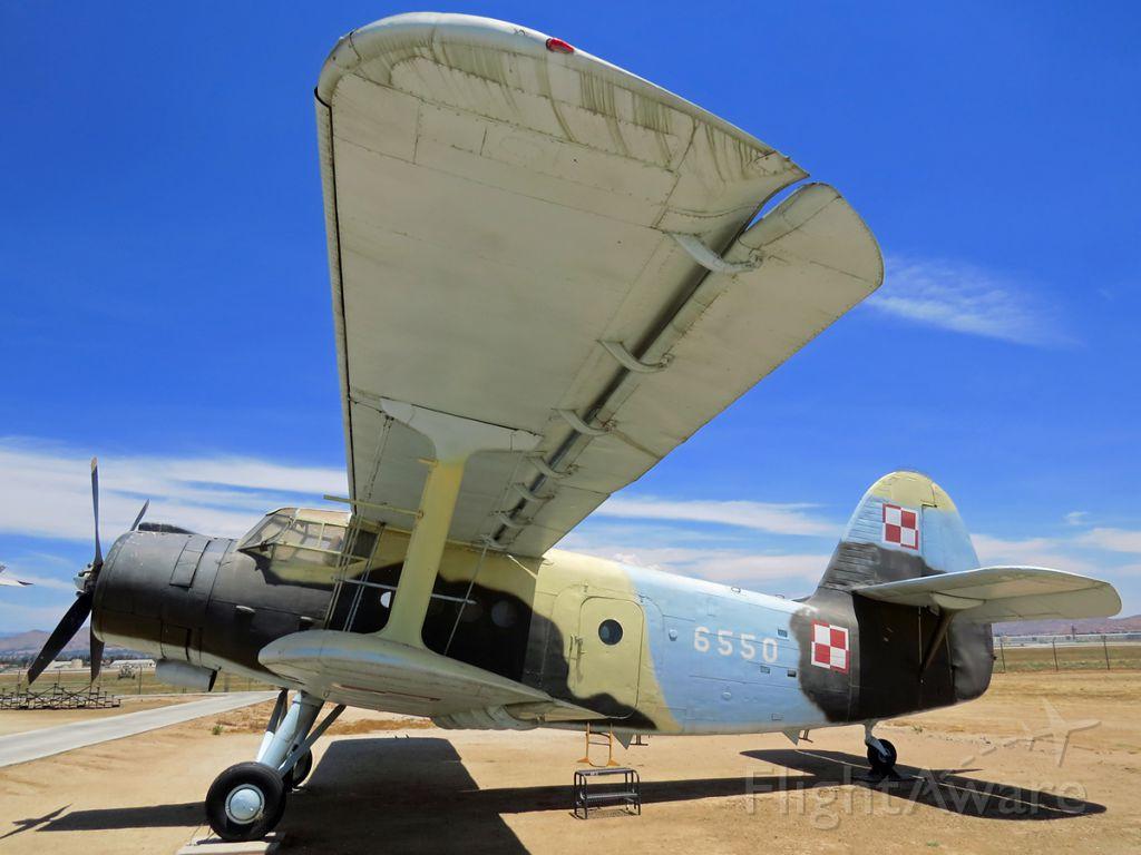 Antonov An-2 (N22AN) - Seen at the March Field Air Museum in Riverside, California.