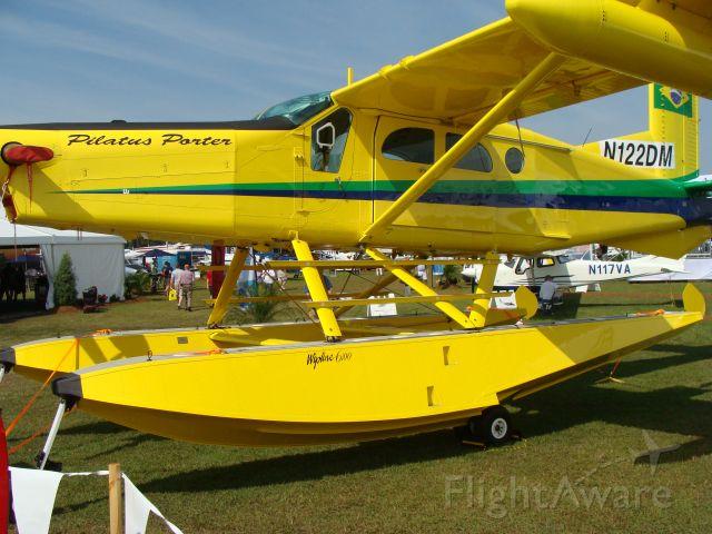 — — - Pilatus Porter PC6 on Floats