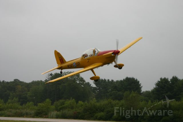 OGMA DHC-1 Chipmunk (N80216) - Low pass KTAN