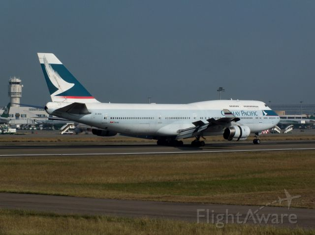 Boeing 747-400 (B-HOS)