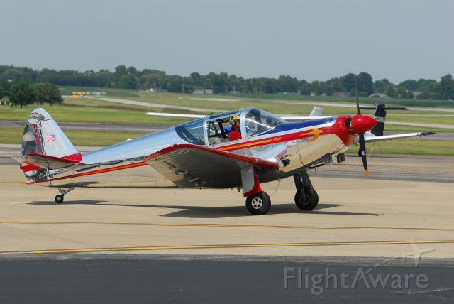 TEMCO Swift (N78012) - Taxiing for demo flight in 2012