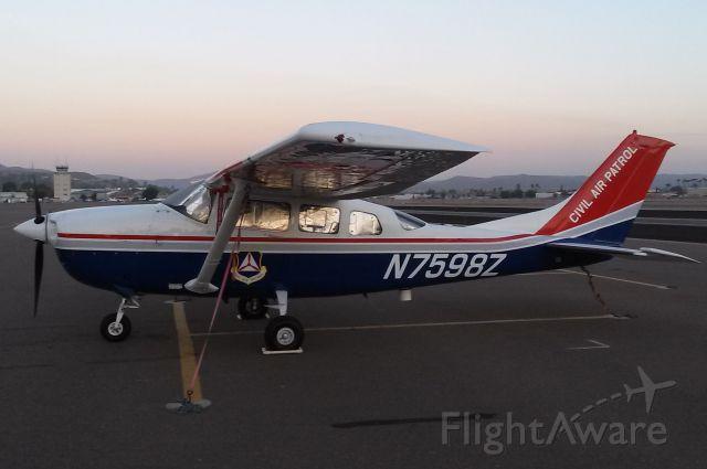 Cessna 206 Stationair (N7598Z)