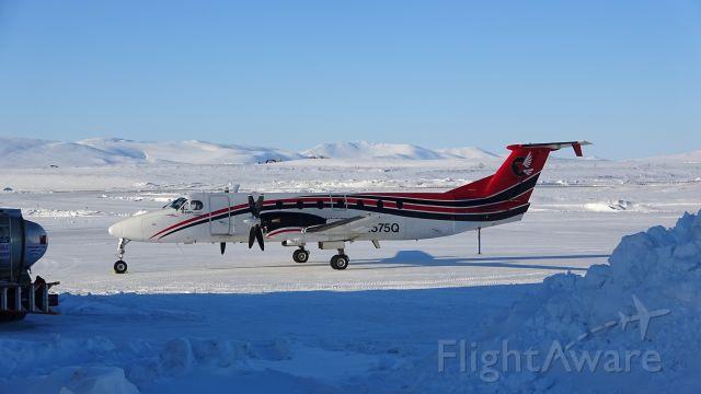Beechcraft 1900 (N575Q) - A Ravn Air Alaska Beechcraft 1900C in Nome, Alaska.