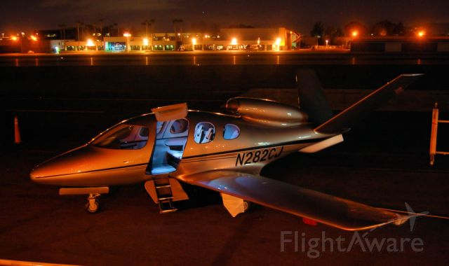 Cessna Citation CJ1 (N282CJ) - Cirrus Vision SF50