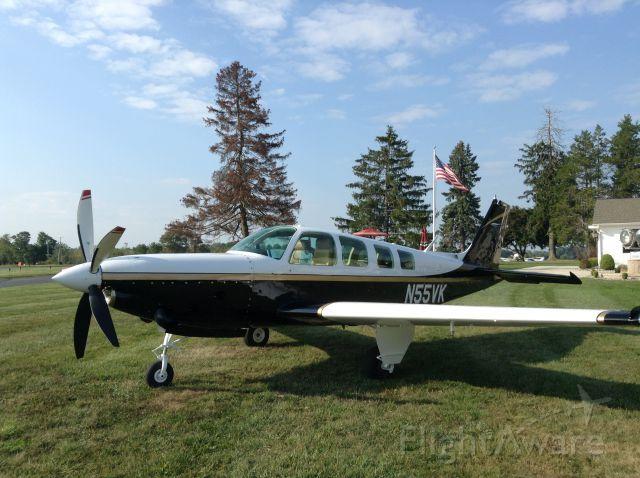 Beechcraft Bonanza (36) (N55VK)