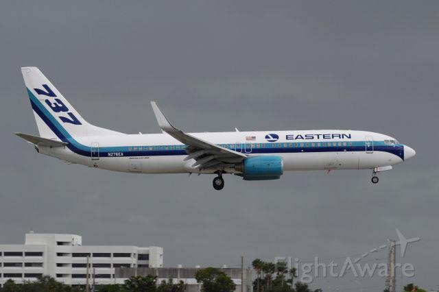 Boeing 737-800 (N276EA) - Miami International, October 2017