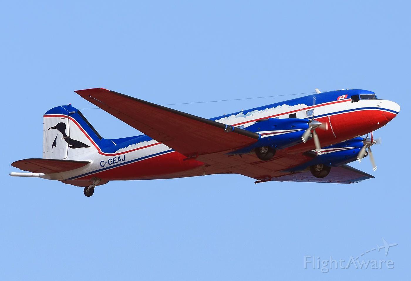 Douglas DC-3 (turbine) (C-GEAJ) - ALCI Aviation. December, 2018