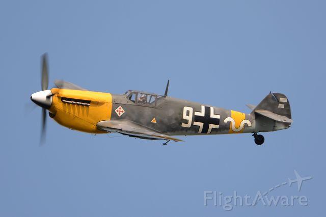 MESSERSCHMITT Bf-109 (G-AWHH) - Buchon, OTT19