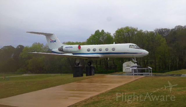 Gulfstream American Gulfstream 2 (N945NA) - Taken at the Huntsville Air and Space Center