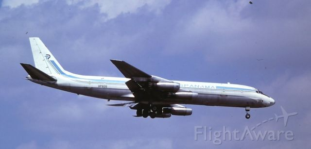 APF826 — - March 1981, former United DC-8 converted to a Freighter. Scrapped by August 1985 at Miami