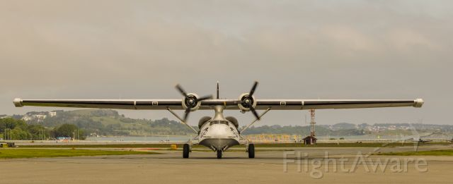 GPBYA5 — - Catalina PBY-5A Miss Pick Up<br /><br />Photo shot on Sola Airport Stavanger Norway