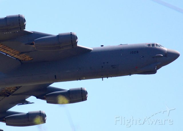Boeing B-52 Stratofortress (61-0028) - At Barksdale Air Force Base.