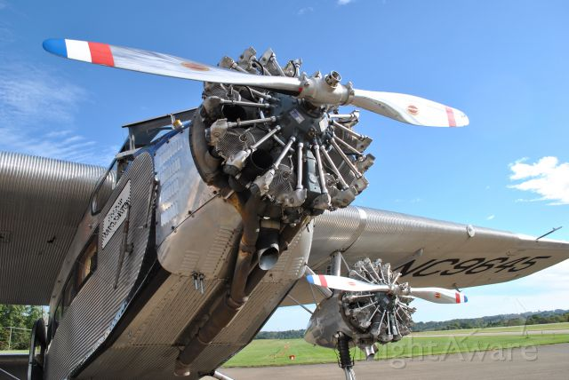 NC9645 — - This particular plane, No. 146 off Ford