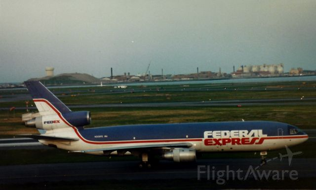McDonnell Douglas DC-10 (N308FE) - From the 1990